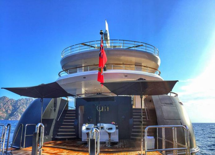 Discover Sicily surroundings on this Custom Feadship boat