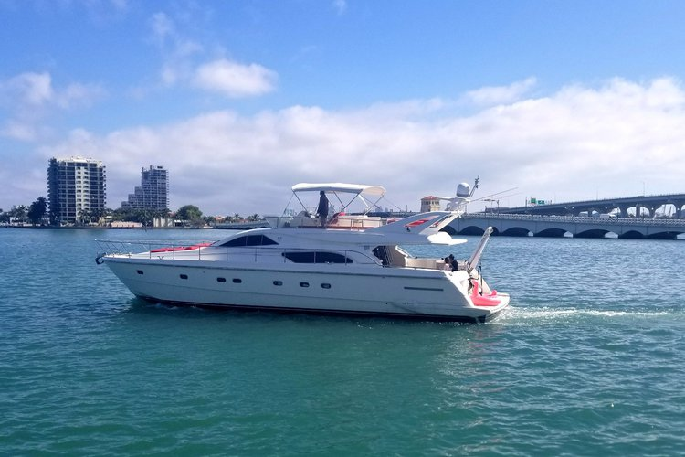 Boat for rent Ferretti 60.0 feet in Sea Isles Marina, FL