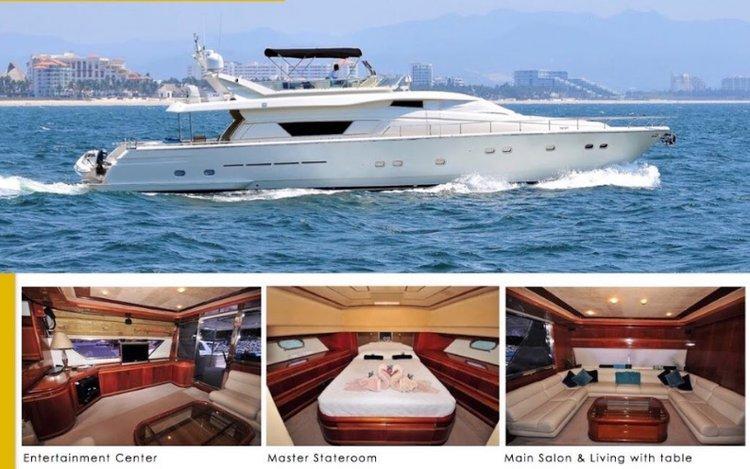Boat for rent Ferretti 80.0 feet in Marina Nuevo Vallarta, Mexico
