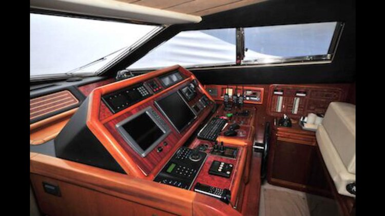 Up to 25 persons can enjoy a ride on this Motor yacht boat