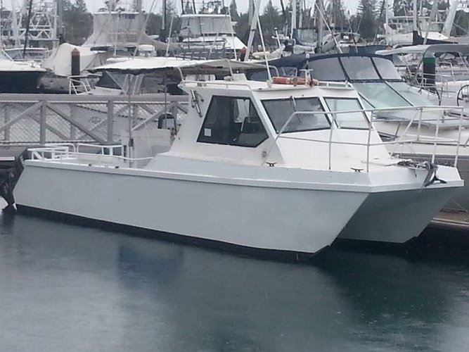 This catamaran rental is perfect to enjoy Mooloolaba