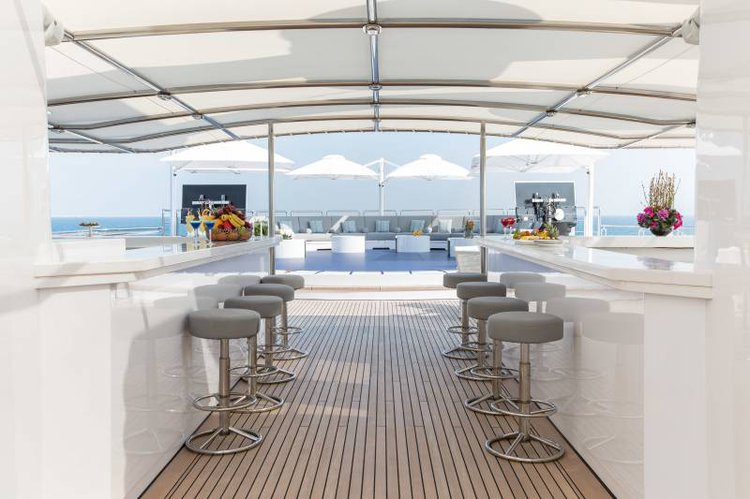Up to 36 persons can enjoy a ride on this Motor yacht boat