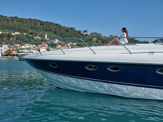 Discover Zakynthos surroundings on this PRINCESS V55 PRINCESS boat