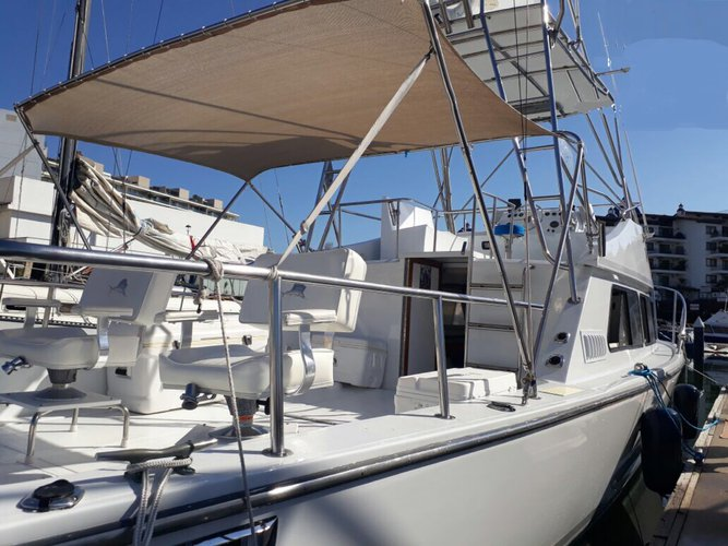 Boat for rent Pacífica 36.0 feet in Marina Nuevo Vallarta,