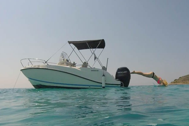 Boat for rent QUICKSILVER 20.0 feet in Trogir, Croatia