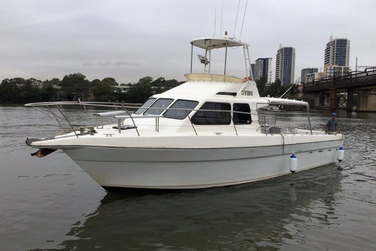 Motor yacht boat for rent in Rose Bay