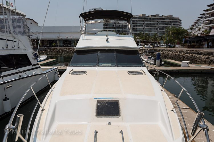 Motor yacht boat rental in Marina Nuevo Vallarta, Mexico
