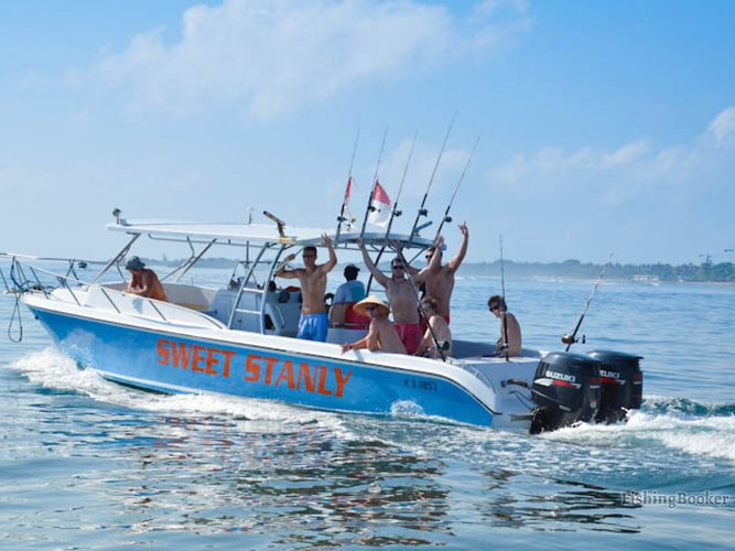 Discover Nusadua - Bali surroundings on this 12M Sweet Stanly boat