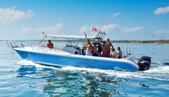 Center console boat for rent in Nusadua - Bali