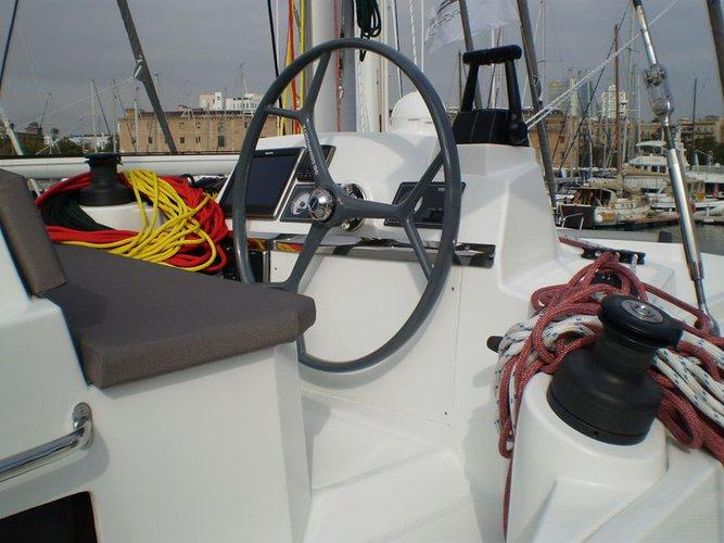 Catamaran boat rental in Cienfuegos,