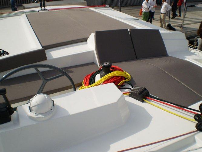 Boating is fun with a Catamaran in Cienfuegos