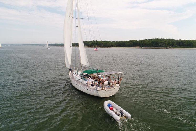 Discover Sag Harbor surroundings on this Flagship Beneteau boat