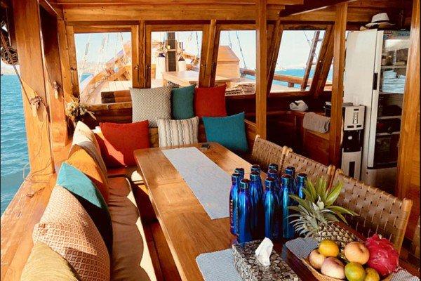 Discover Nusa Tenggara surroundings on this Custom Custom boat
