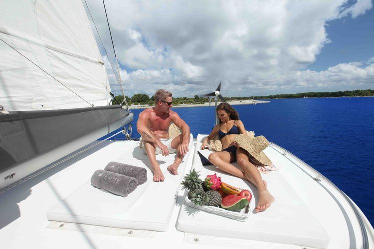 Catamaran boat rental in Denpasar,