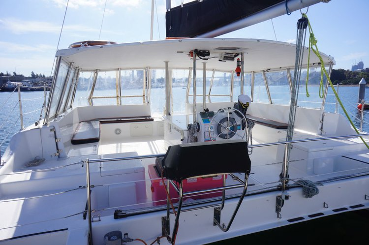 This 34.0' Seawind cand take up to 30 passengers around Sydney