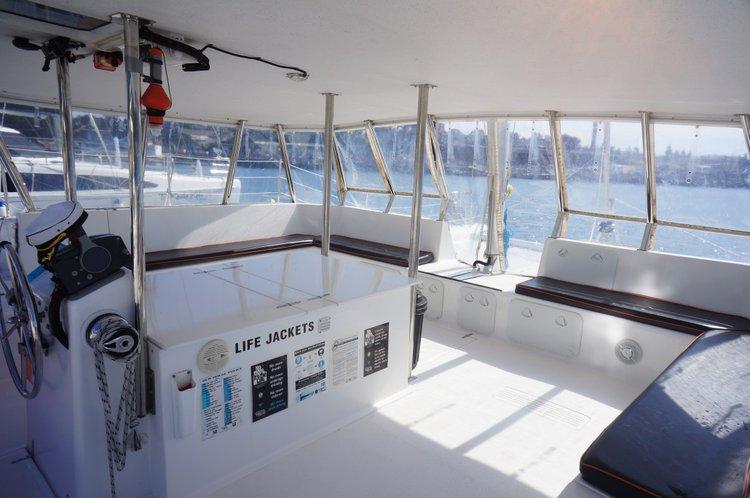 Catamaran boat for rent in Sydney
