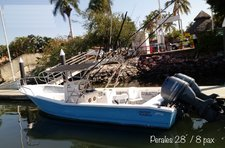 Hop aboard this amazing 28' Center Console rental in Mexico!