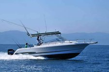 Climb aboard this motor boat for a great fishing experience!