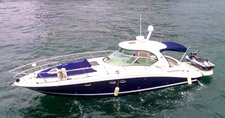 Go on a nautical adventure on this elegant motorboat