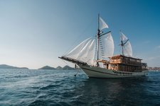 Experience sailing at its best on this sail boat charter in Indonesia