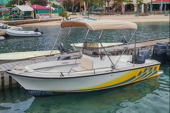 Beautiful 17' Center Console for rent, ideal for fun in the sun