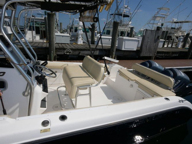 Center console boat rental in Paradise Island Ferry Terminal,