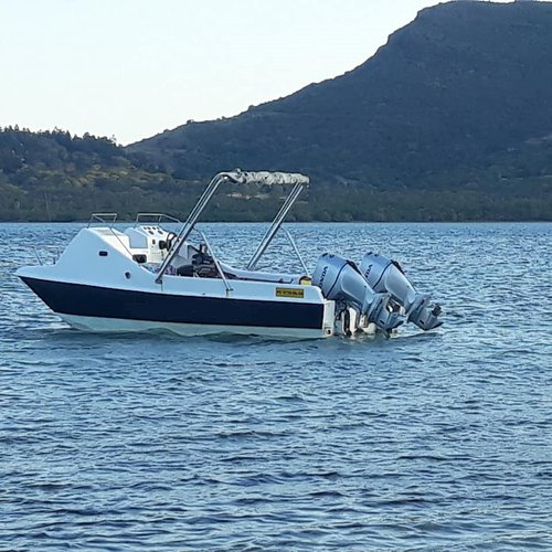 Discover La Gaulette in style fishing on this motor boat rental