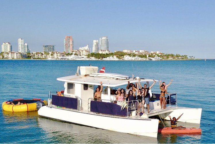 Tranquility - Party Catamaran in Miami