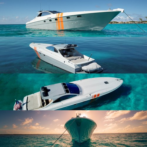 Discover Nassau surroundings on this MILLENIUM 58 OTAM boat
