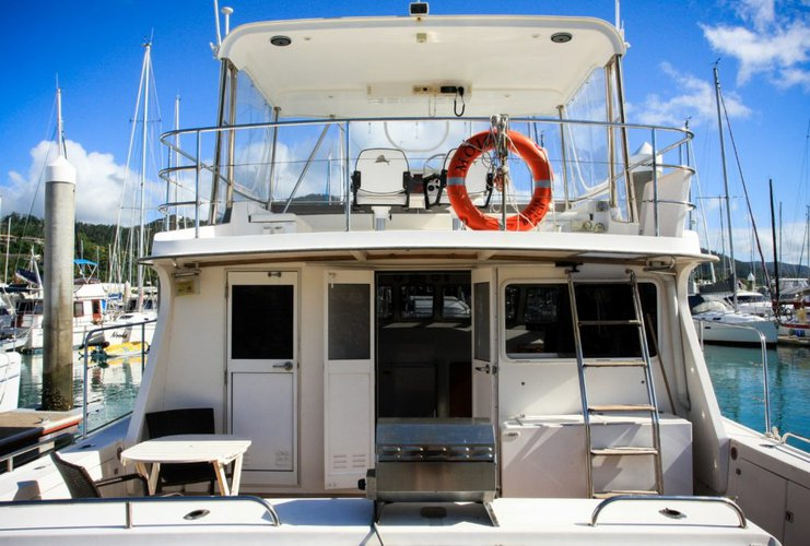 Boating is fun with a Catamaran in Whitsundays
