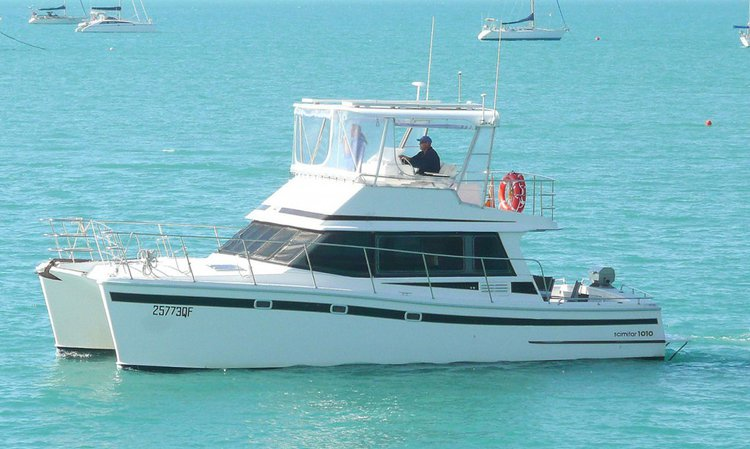 Enjoy luxury and comfort on this Whitsundays catamaran charter