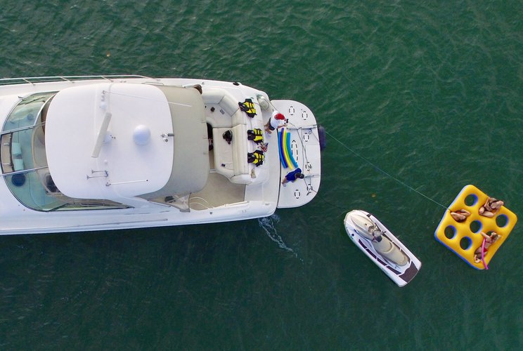 SeaRay's 57.8 feet in Miami