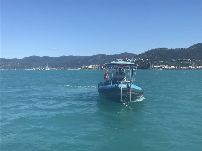 Zodiac's 22.0 feet in Whitsundays