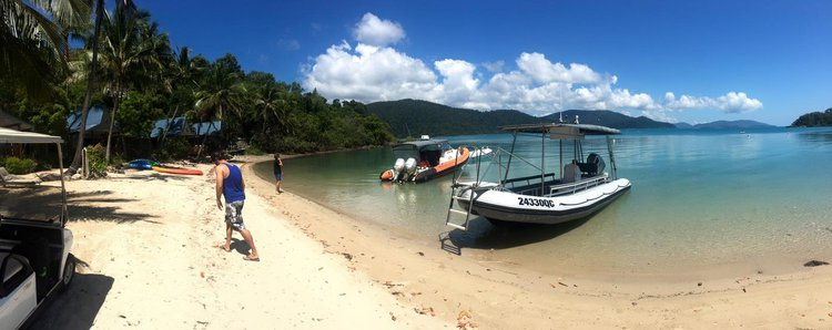 Rigid inflatable boat rental in Whitsundays,