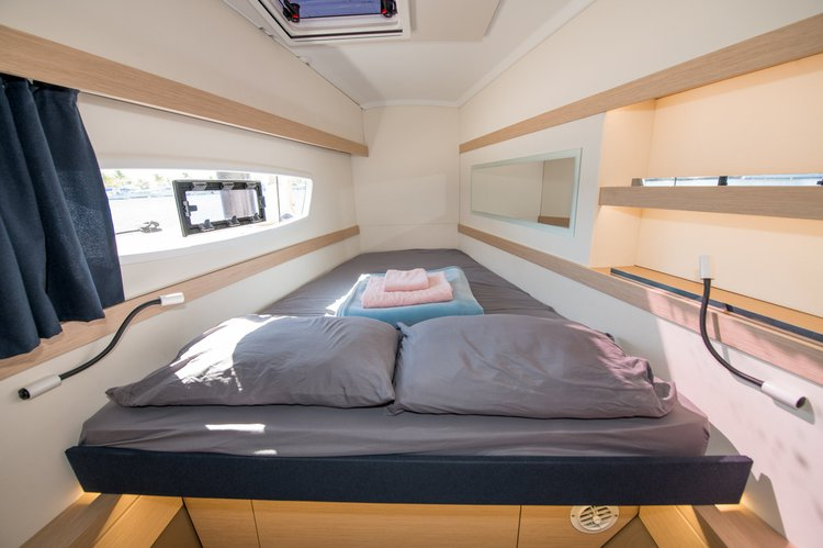 38.5 feet Fountaine Pajot in great shape