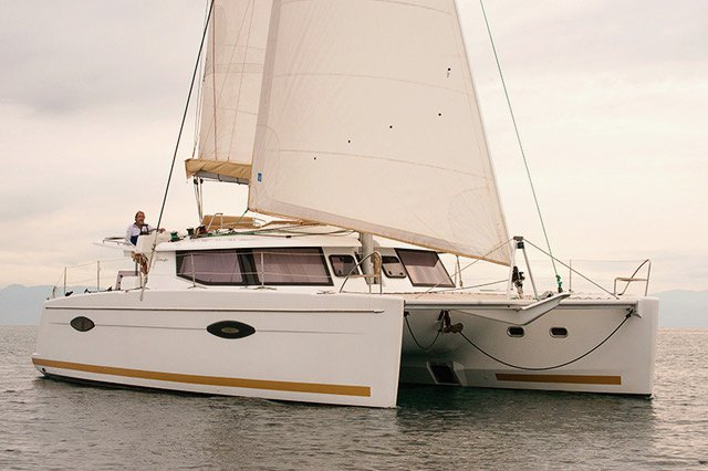 Fountaine Pajot's 44.0 feet in La Paz