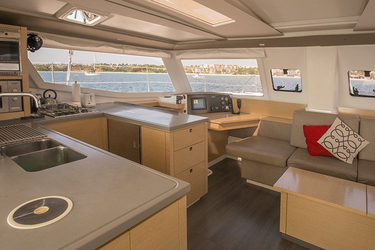 Boat for rent Fountaine Pajot 44.0 feet in Marina Cortes, Mexico