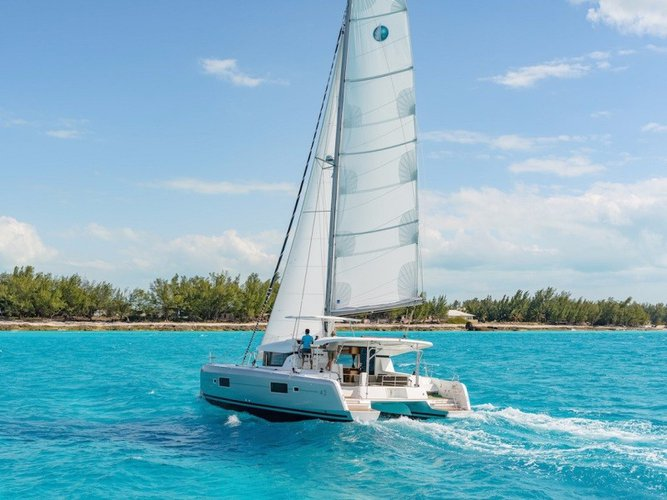 Explore the beauty around Puerto Rico aboard Lagoon 42