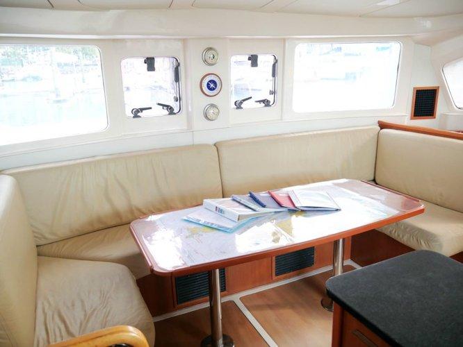 Catamaran boat rental in Abells Point Marina, Australia