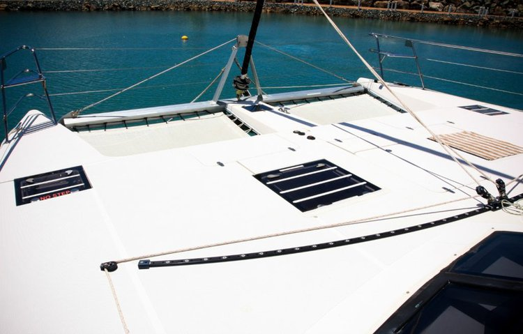 Catamaran boat rental in Abells Point Marina,