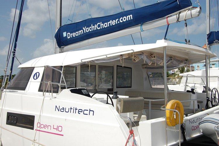 Catamaran boat for rent in Cienfuegos