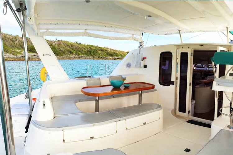 Catamaran boat for rent in Hamilton