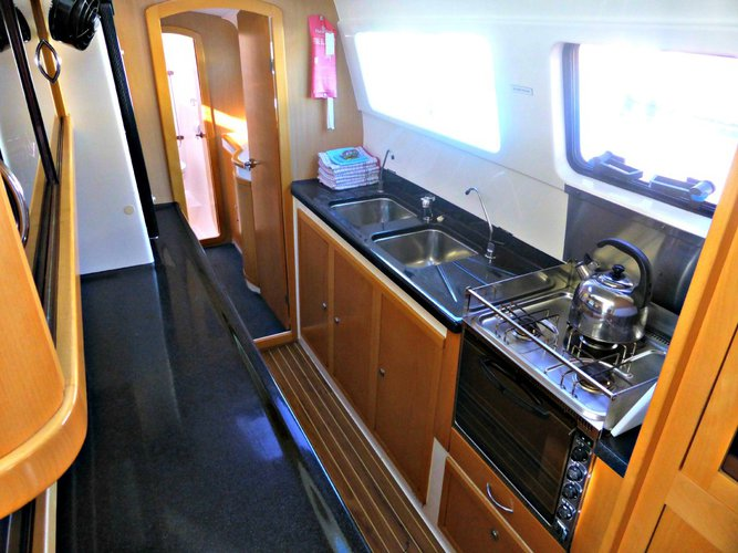Catamaran boat for rent in Whitsundays