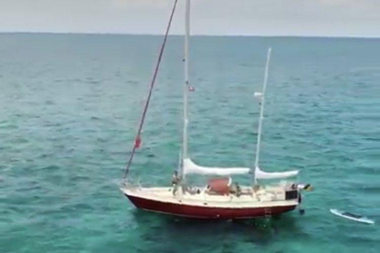 Discover Miami surroundings on this Alpa 42 Sparksman Stephens boat