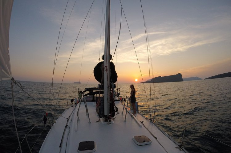 Boat for rent Walkabout Yachts 43.0 feet in Paros, Greece