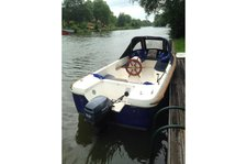 Take this beautiful boat for a spin!