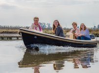 Sail the fascinating Netherlands on a superb motor boat for rent