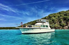 55ft Yacht Charter - Icacos, Palomino, Vieques, Culebra and Culebrita