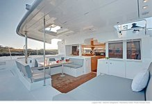 Newest sailing catamaran available for charter in Lagoon 450