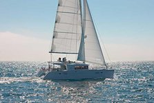 Hope aboard this adorable Lagoon 450 in Puerto Rico